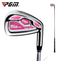 2019 New Arrival PGM Golf Clubs Women No.7 Irons Steel/Carbon Head Chipping Clubs Golf Putter Push Rods/Golf Driver