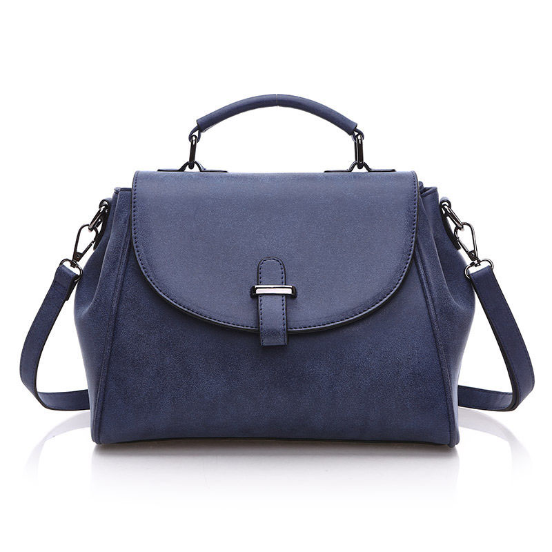 Edgy Messenger Bag Korean Style 2016 Newest Flap Bag Ladies Stylish Nubuck Leather font b Handbag