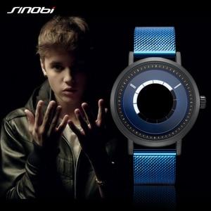 Image 4 - Sinobi Creative Design Mens Quartz Watch Rotating Watches Man Casual Wrist watch hombres Clock Male Gifts relogio Masculino 19