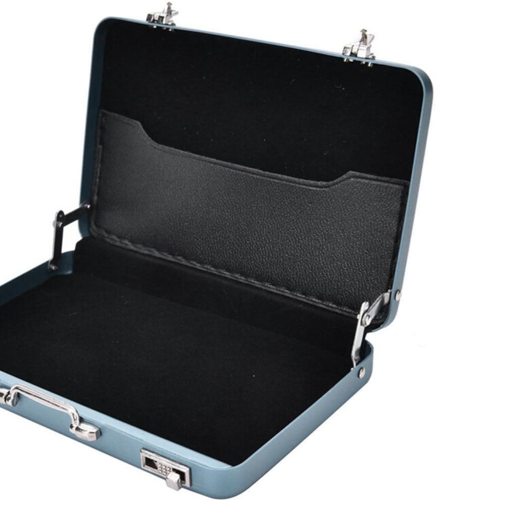 1pcs 5 Colors Aluminium Credit Case Box Fashion Mini Briefcase ...