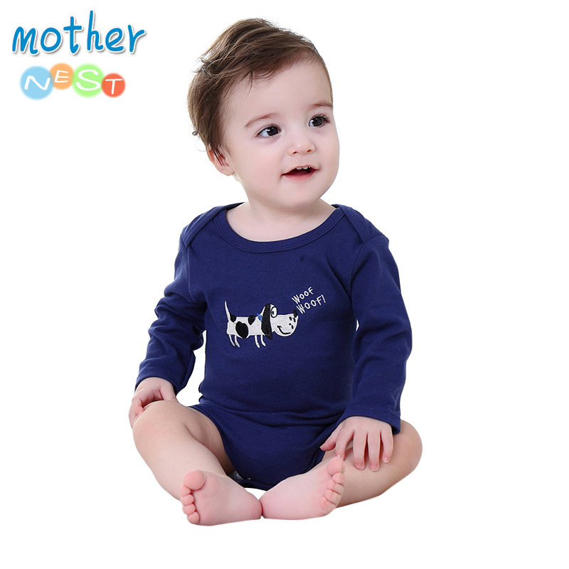 Mother Nest 2018 Newly Baby Bodysuits Cotton Baby Girls Boy Clothing Short Sleeves O-Neck Newborn Baby Clothes Infant Product