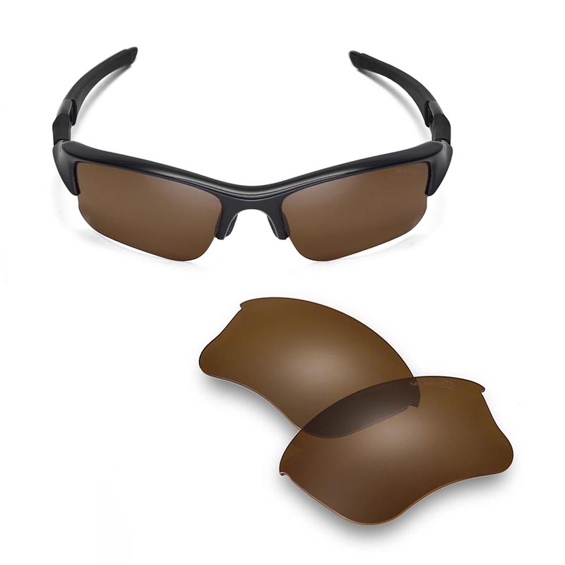 7a4ea39daa Walleva Mr.Shield High Grade Polarized Replacement Lenses for Oakley Flak  Jacket XLJ Sunglasses 6 colors available-in Accessories from Apparel  Accessories ...