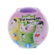 6PCS Novelty Gag Toys Ball Surprise Egg Suprise Doll Toys Gashapon Kids Toy Gift цены
