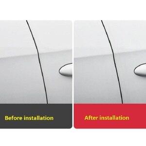 Image 5 - 2019 New Open The Door Car Anti Collision Auto Door Collision Avoidance Stick Rubber Strip Decoration Stickers Car Accessories