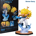 Anime Dragon Ball Z Super Saiyan 3 Gotenks Figuarts ZERO PVC Action Figure Collectible Modelo Brinquedos Presente de Natal 16 cm CSL68