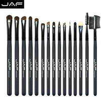 15 Pcs Pony Hair Eye Shadow Foundation Eyebrow Brush Brand Makeup Brushes Professional Cosmetic Kits Make