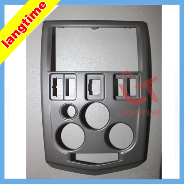 Car refitting DVD frame,DVD panel,Dash Kit,Fascia,Radio Frame,Audio frame for 04~07 Renault LOGAN,2din