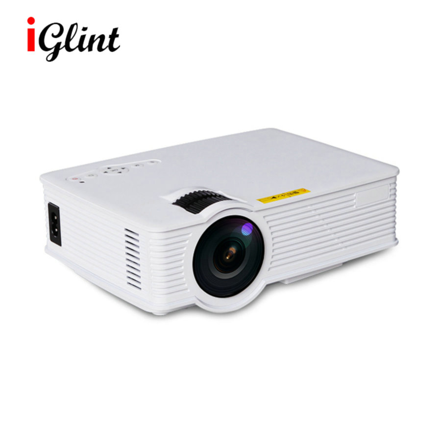 800 Lumens Home Theater Mini Portable Led Multimedia: GP9 Mini Projector,800 Lumens 800x480pixels Portable HD