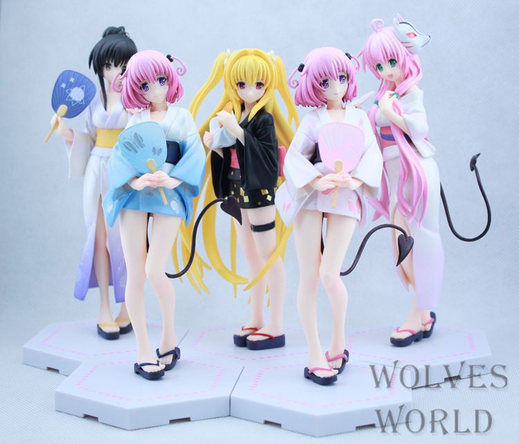 ToLOVE DARKNESS ,Adult pretty girl model. Anime girl model. Beauty model tableware. Animation hand model toys. beautiful darkness
