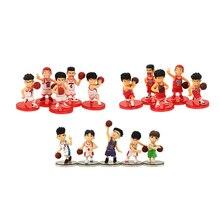 5 sztuk/partia SLAM DUNK Shohoku koszykarz Anime rysunek lalki Hanamichi Sakuragi Rukawa Kaede Model Toy dla dzieci
