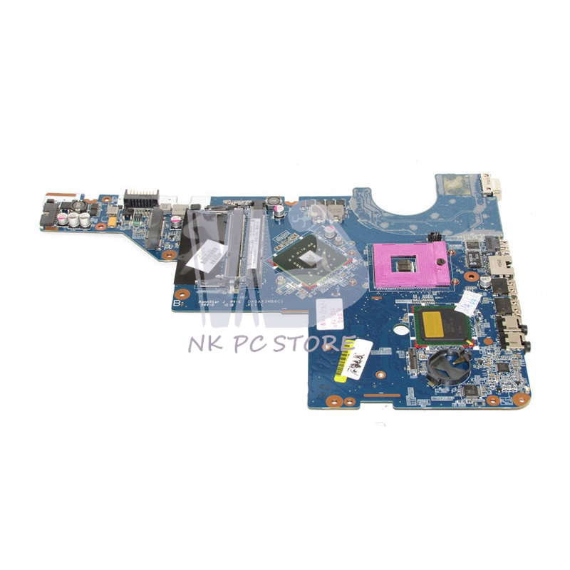 NOKOTION 605140-001 Main Board For HP G42 G62 CQ42 CQ62 Laptop Motherboard GL40 DDR3 Free CPU Full tested 634649 001 for hp g42 cq42 cq62 laptop motherboard daax1jmb8c0 i3 cpu ddr3 free shipping 100