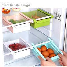 Neue auflistung Kühlschrank Regal Rack Multifunktionale Lagerung Box Food Container Küche Werkzeuge Verschmutzung freies Für lebensmittel