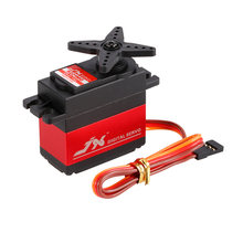 JX RC car PDI-6221MG Metal Gear 4.8V-6V 0.16sec/60 Digital Servo 20.3kg Torque Aluminums Case for 1/10 1/8 RC cars(China)