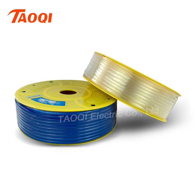 1m PU ống 6*4mm Không Ống Khí Nén Vòi Polyurethane Ống OD 6mm ID 4mm cho Máy Nén chất lượng cao Bằng Khí Nén phần