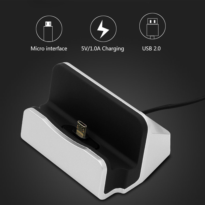 Keyounton USB Charger Dock for bel 39 kin Samsung iPhone Mobile Phone Adapter Universal Micro Type C Cable Desktop Stand Charge in Mobile Phone Chargers from Cellphones amp Telecommunications