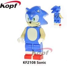 Super Heróis Única Venda Sonic Centinel X-men Annabelle Sandman Humano Tocha Tijolos Blocos de Construção de Brinquedos de Presente Das Crianças KF2108