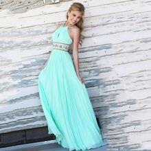 Summer Style Women Sleeveless Casual Chiffon Long Dress 2018 New Elegant Sexy Maxi Dresses Party Floor-Length Sky Blue Vestidos цены онлайн