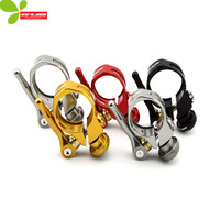 GUB 31 8mm Aluminium Alloy Quick Release Bicycle Seatpost Clamps Mountain Bike Seat Tube Clamp With