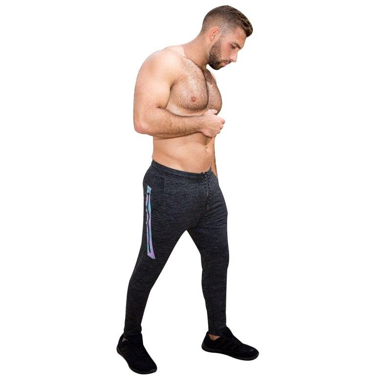 1c5851bf10a00 Taddlee Marque Hommes Joggers Pantalon Sport GYM Fitness Pantalon Exécutant  Active Slim Fit Bas Homme Maigre Pantalon avec Poche dans De course Pantalon  de ...