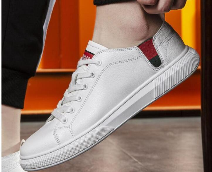 MFU22  Small white shoes male 2019 spring new breathable handmade casual shoes maleMFU22  Small white shoes male 2019 spring new breathable handmade casual shoes male