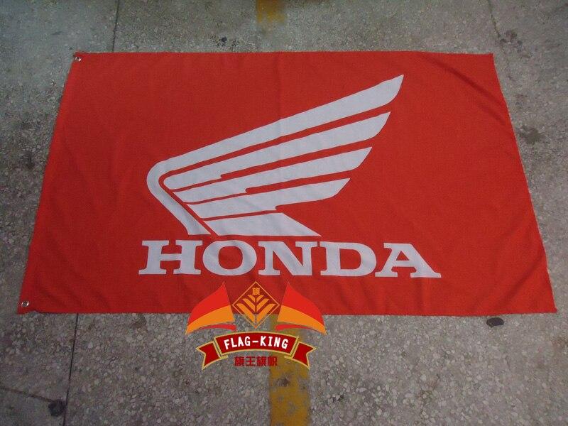 HonDA voiture Drapeau, 3x 5ft Polyester, livraison gratuite HonDA bannière