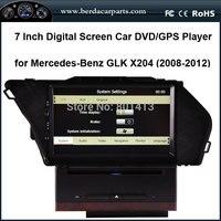 Xe GPS DVD cho Mercedes-Benz GLK X204 với GPS + IPOD + SD + USB + RCA + AUX CAN BUS