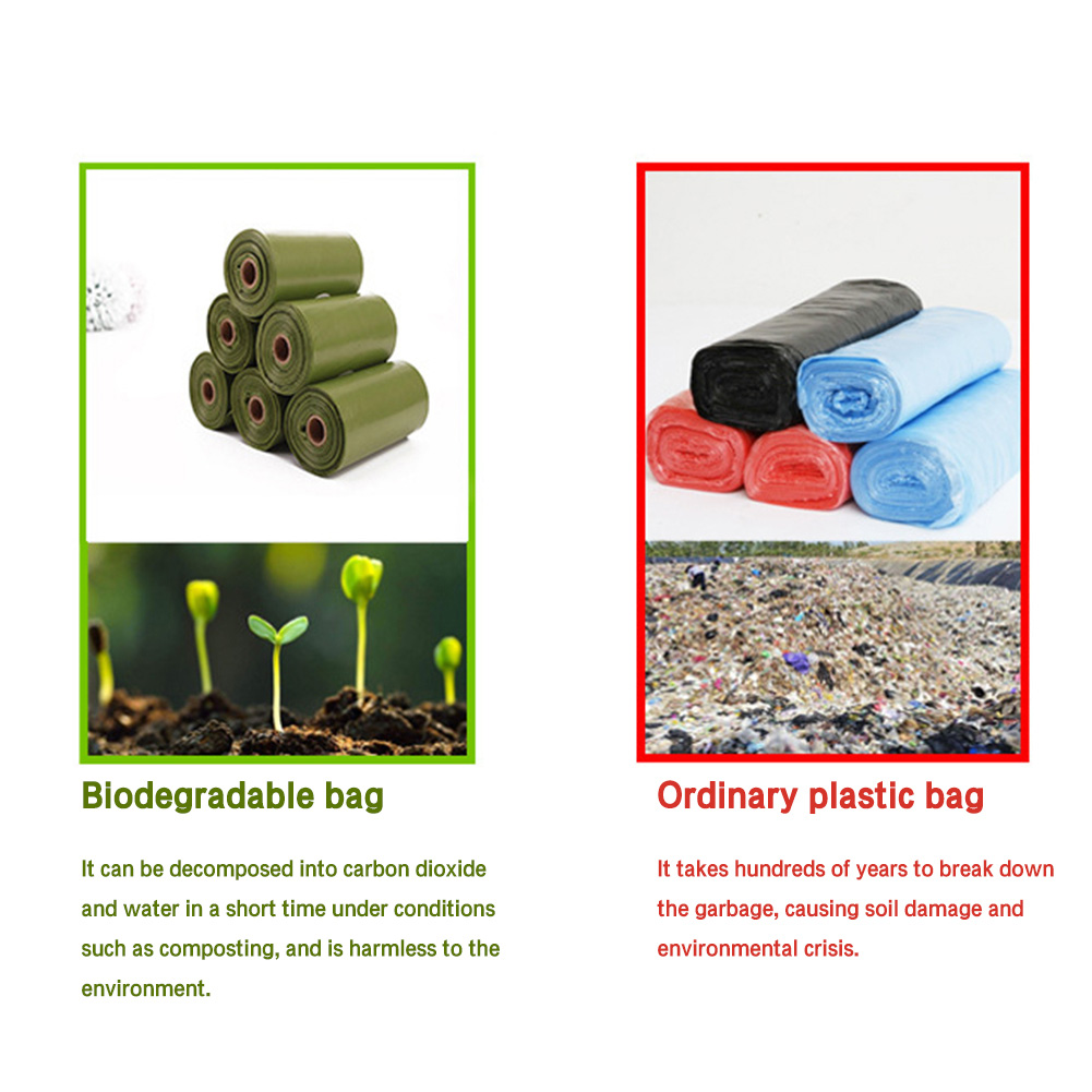 Biodegradable Poop Bags Eco-Friendly 18
