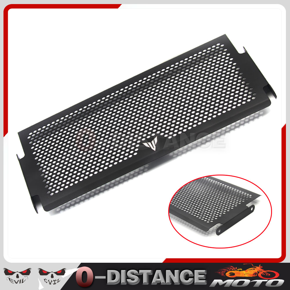 For Yamaha MT07 MT-07 2014 2015 Engine Radiator Bezel Grille Protector Grill Guard Cover Protection Black Motorcycle accessories arashi motorcycle radiator grille protective cover grill guard protector for 2008 2009 2010 2011 honda cbr1000rr cbr 1000 rr