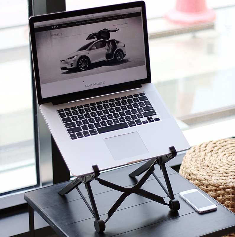 NEXSTAND K2 laptop stand folding portable adjustable laptop lapdesk offic lapdesk.ergonomic notebook stand