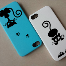 Lovely Cat Light Switch Phone Wall Stickers