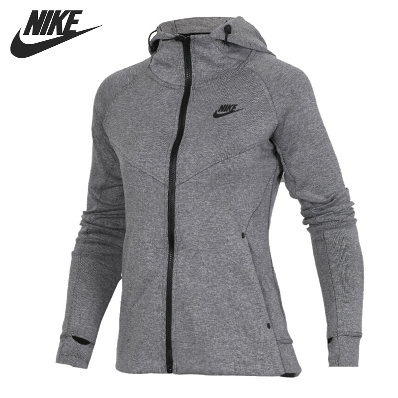 Original New Arrival NIKE AS W NSW TCH FLC HOODIE FZ Women's Jacket Hooded Sportswear original new arrival 2017 nike w nsw hoodie fz rstr ftr women s jacket hooded sportswear