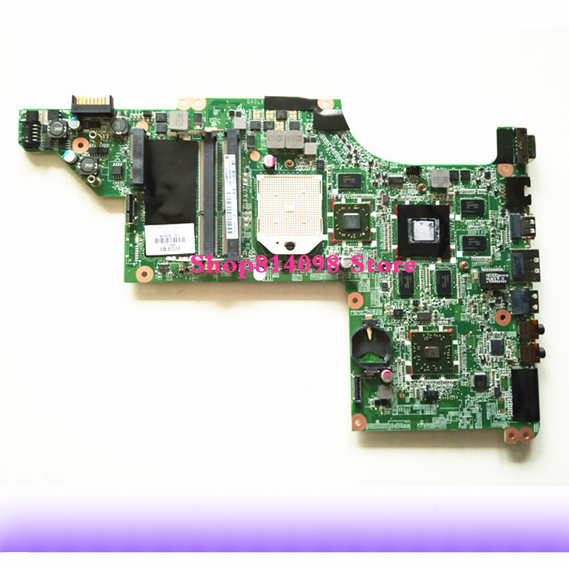 Laptop Motherboard For HP DV6 DV6-3000 Series 603939-001 Mobility Radeon HD 5650 DDR3 Mainboard Daolx8mb6d1