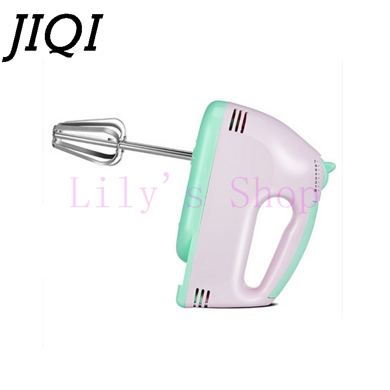 Household electric eggs mixer blender beater butter baking handheld mini 304 stainless steel food dough mixer EU US plug 220V