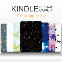 For Amazon Kindle Paperwhite1 2 3 Case Shell Leather Cover For Kindle Paperwhite Case Lighter
