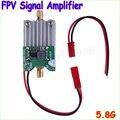 Atacado 1 pcs 5.8 Ghz FPV Transmissor RF Signal Amplifier amp Para Avião Modelo de Helicóptero