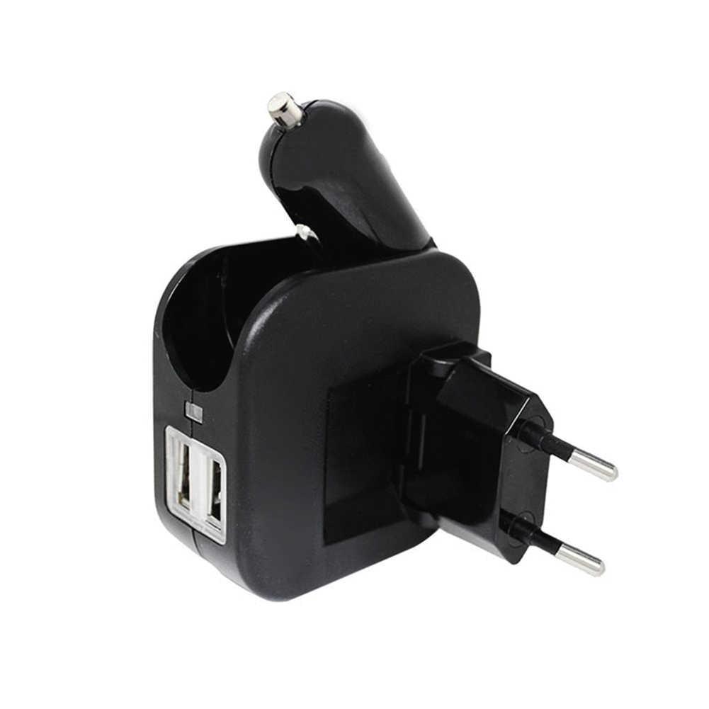 المزدوج USB سريع سيارة شاحن هواتف xiaomi 9 redmi k20 الموالية ل فون X XR باد البسيطة لسامسونج S10 9 8 7 6 الهاتف السفر الحائط شاحن