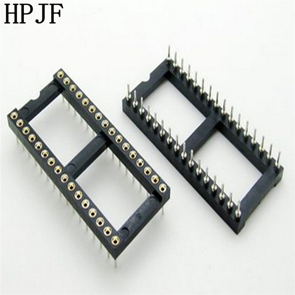 5PCS <font><b>32</b></font> <font><b>Pin</b></font> Runde DIP IC Sockel <font><b>Adapter</b></font> 32Pin Pitch 2,54mm Stecker image