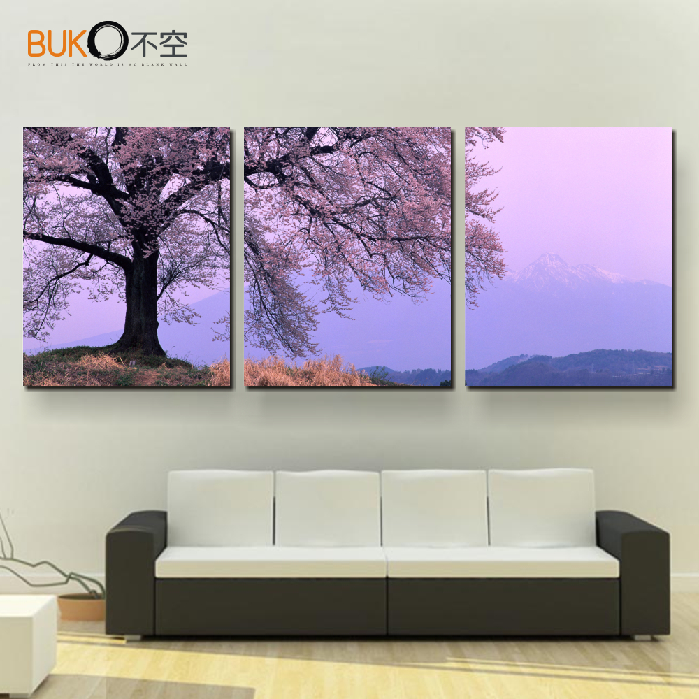Online buy wholesale cherry kitchen photos from china for Best brand of paint for kitchen cabinets with cherry blossom canvas wall art