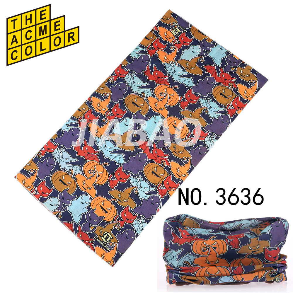 2017 Kids bandanas muffler high elasticity scarf cap Headband for men women unisex cartoon
