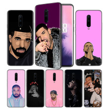 Drake Trap Rapper Soft Black Silicone Case Cover for OnePlus 6 6T 7 Pro 5G Ultra-thin TPU Phone Back Protective
