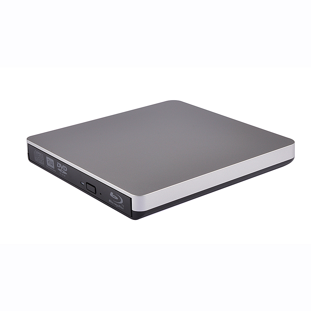 New Bluray Player External Optical Drive USB 3.0 Blu-ray BD-ROM CD/DVD RW Burner Writer Recorder Portable For Macbook Laptop bluray player external usb 2 0 dvd drive blu ray 3d 25g 50g bd r bd rom cd dvd rw burner writer recorder for laptop computer pc