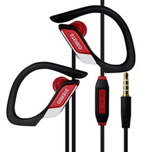 3.5mm In ear Stereo Headset Noise Canceling Bass Sport Headphones with microphone Handsfree for smart phone MP3 player