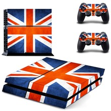 Union Jack flag Vinyl Decal Skin Sticker Cover for Sony PS4 PlayStation 4 and 2 controller skins