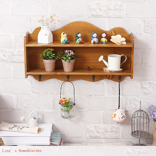 Hand Curved European 2 Tiers Retro Antique Wood Wall E Shelf Hooks In Storage Holders Racks From Home Garden On Aliexpress Alibaba Group