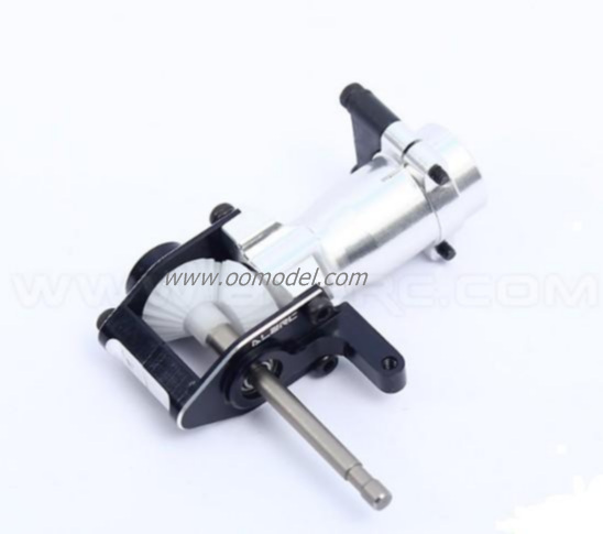 Alzrc Devil 450 D45P23 Metal Tail Torque Tube Unit Black  Devil 450 Spare Parts Free Shipping with Tracking tarot 450 metal tail torque tube unit shaft driven tl45038 01 tarot 450 rc helicopter spare parts freetrack shipping