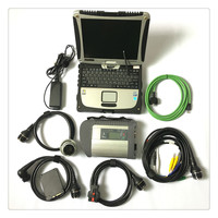 Full chip MB Star C4 Multiplexer MB SD Connect C4 +Toughbook CF19 Laptop +HDD/SSD Ready to use High quality Auto diagnosis tools