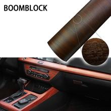 30*100 см ПВХ Водонепроницаемый древесины текстурированные салона декоративная виниловая пленка наклейки для Mercedes W204 Volvo V70 Alfa Romeo