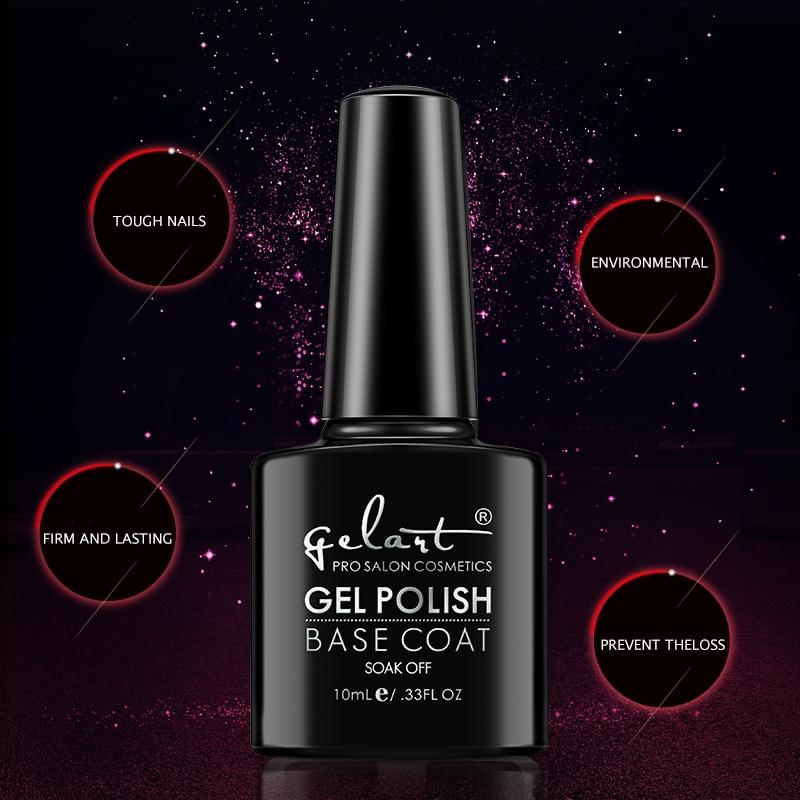 Nail polish glue disposable frosted super bright gel nail polish soak off nail glue base coat  Manicure nail glue seal lasting r жидкость domix green professional nail gel polish remuver