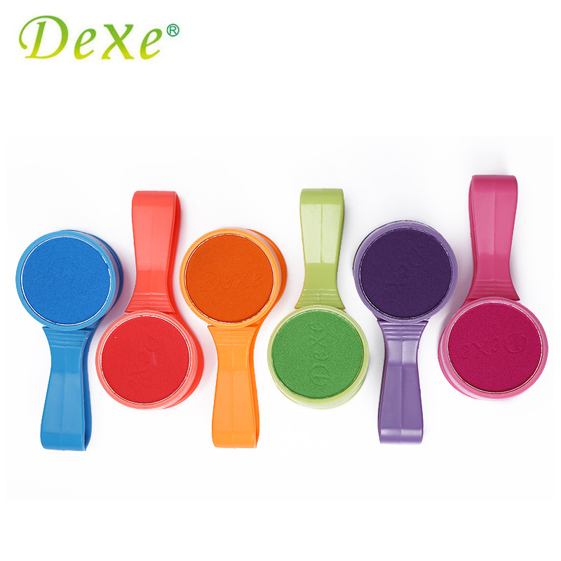 Dexe Temporary Hair Color Chalk Powder Beauty Gaga Halloween Party Makeup Disposable DIY Super Hair Dye Colorful Styling Kit 7
