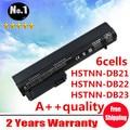 Wholesale New 6 cells laptop battery FOR HP 2400 Series  2510p 2533t 2540p HSTNN-XB21 HSTNN-XB22 RW556AAHSTNN-DB22 free shipping